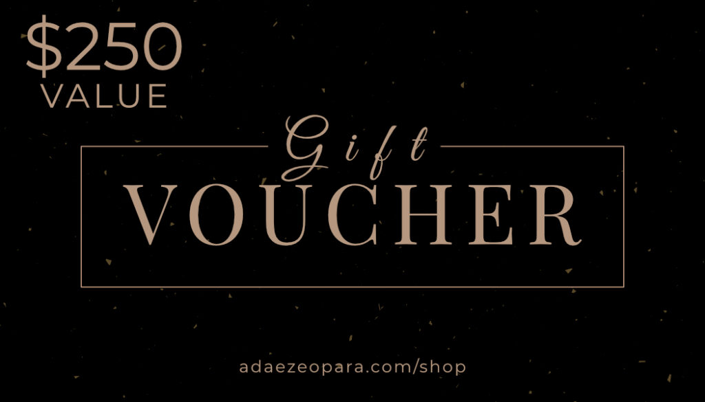 A $250 gift voucher towards portraits, a great gift idea for a loved one