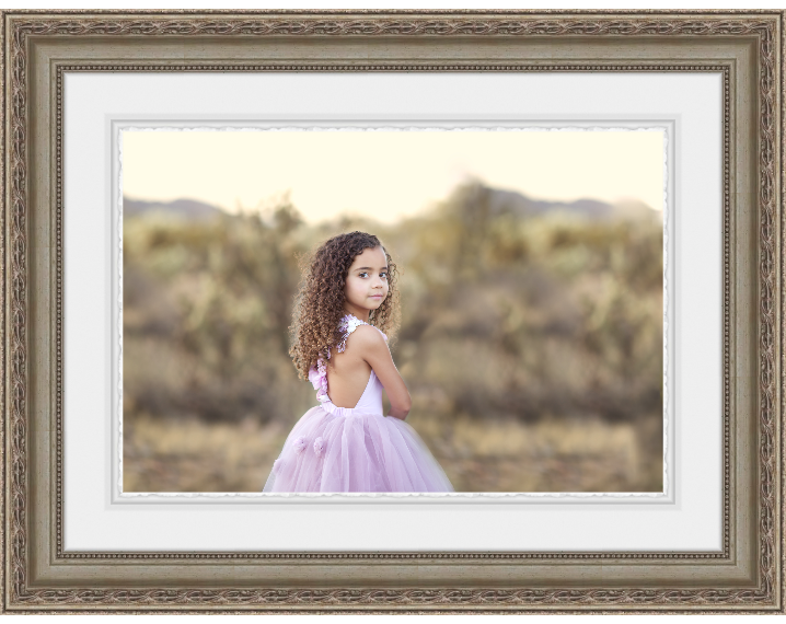 framed-portrait-of-child-in-arizona-desert